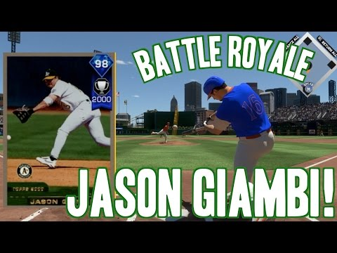 DIAMOND JASON GIAMBI RAKES! MLB THE SHOW 17 BATTLE ROYALE