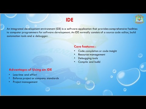 Lesson - 01 : IDE -  what why Integrated Development Environment