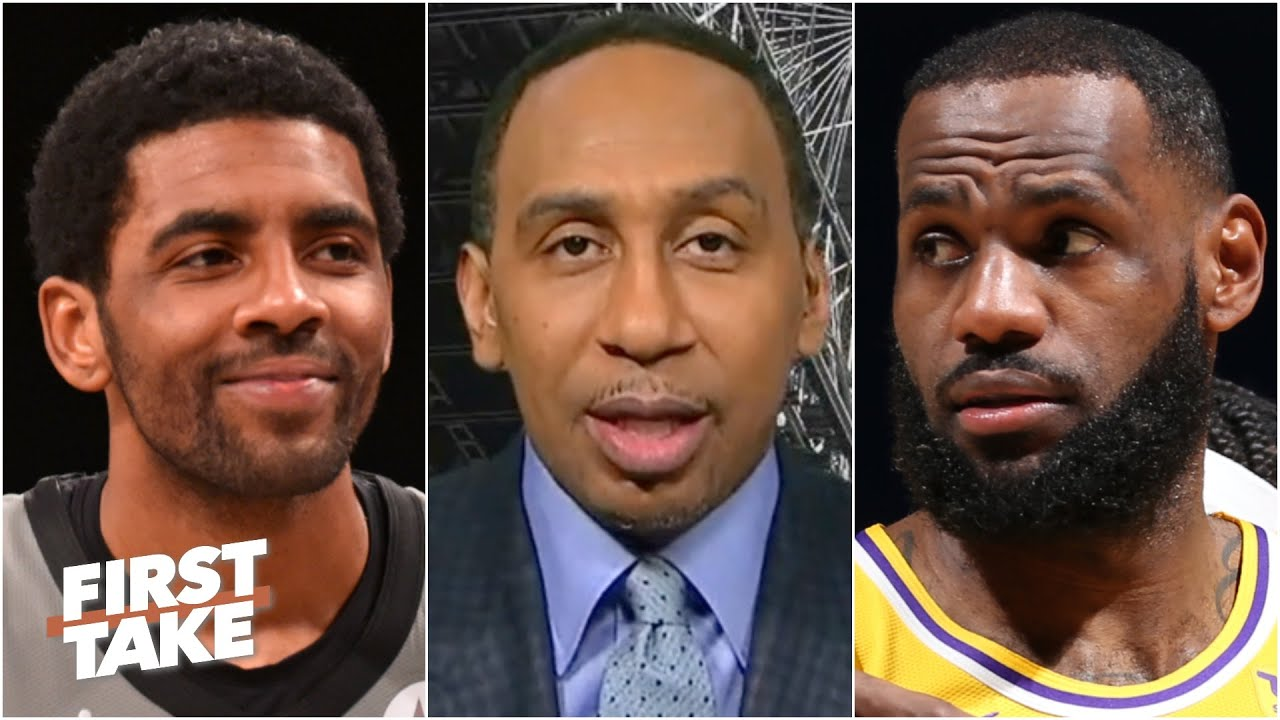 Kyrie Irving is going to 'put on a show' vs. LeBron - Stephen A. | First Take