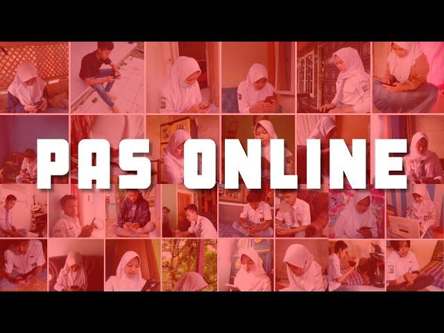 [Dokumentasi] Penilaian Akhir Semester Online - BDR Daring SMKN Karangjaya