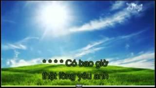 Karaoke - Vì Sao Thế - Phạm Khánh Hưng