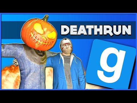 Gmod Deathrun Funny Moments: Delirious's Halloween House of Nightmares!