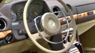 Реставрация Mercedes W 123