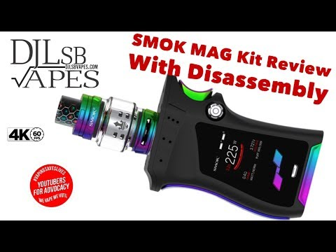 SMOK MAG kit Review and Massive Giveaway with Disassembly