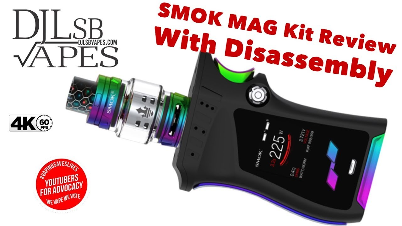 Smok Mag Kit Review And Massive With Disassembly Youtube E Cig Mod Wiring Diagram Free Picture Vaping Ecig Vapes