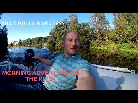 What Pulls Harder?  A Water Time Adventure On The River Weaver