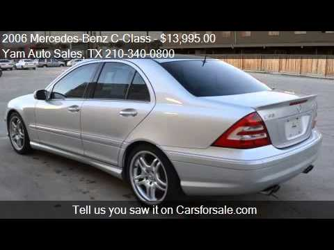 2006 Mercedes Benz C Class C55 Amg 4dr Sedan For Sale In San Youtube