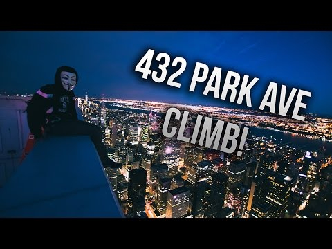 432 PARK AVE ROOFTOP CLIMB!! 1400 FT!