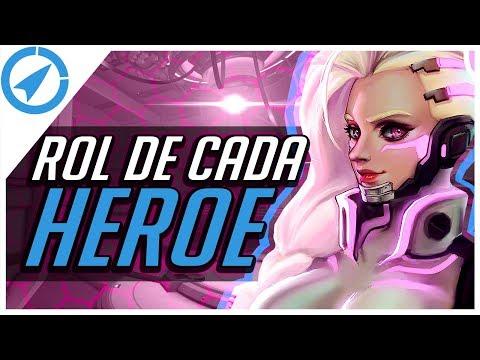 OVERWATCH - GUIA DE ROL DE CADA HEROE  - ROCKETLIVE - TIPS