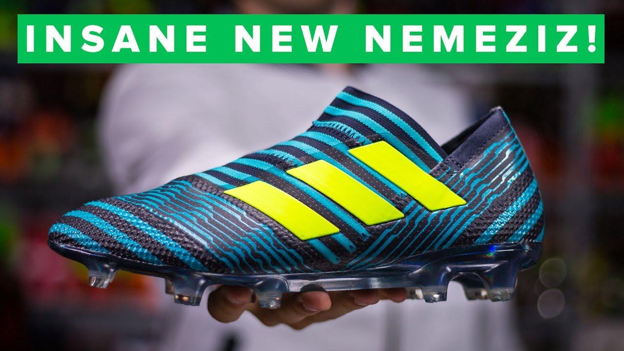 44ef105dd305 SICK BLUE NEMEZIZ 17+ | New Ocean Storm adidas Nemeziz 17+ boots ...