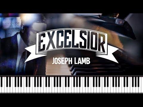 Synthesia [Piano Tutorial] Joseph Lamb - Excelsior Rag