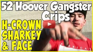 Sharky, H-Crown & Face from 52 Hoover Gangsters on life, the streets & hip-hop