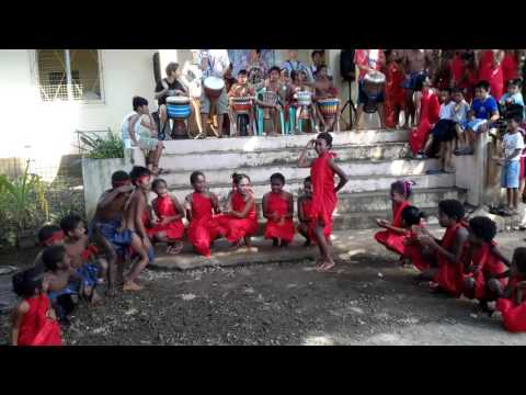 Aeta Magbukun kids tribal dance