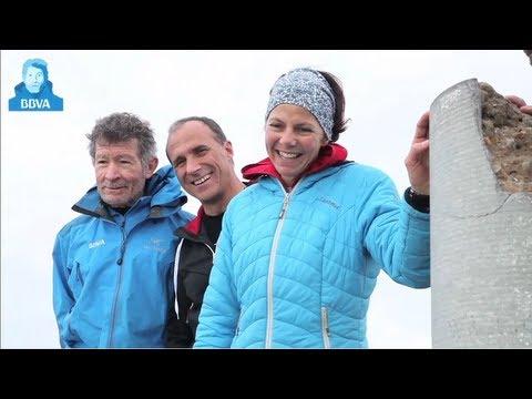 Gerlinde Kaltenbrunner y Ralf Dujmovits suben con Carlos Soria