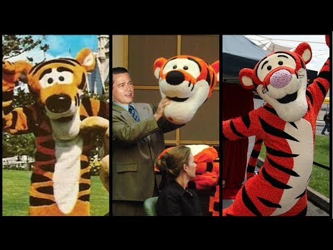 Evolution Of Tigger In Disney Theme Parks with DEFUNCTLAND Guest Star DIStory Ep 16  YouTube