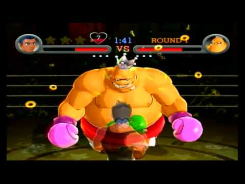Punch Out!! King Hippo Full Fight