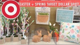 EVERYTHING NEW EASTER / SPRING TARGET DOLLAR SPOT! Yesssss. Shop With Me + Easter Seasonal Section!