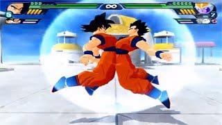 Dragon Ball Z Budokai Tenkaichi 3 - Gohan Místico And Goku Fusion Potara VS MODS ALEATORIOS #4