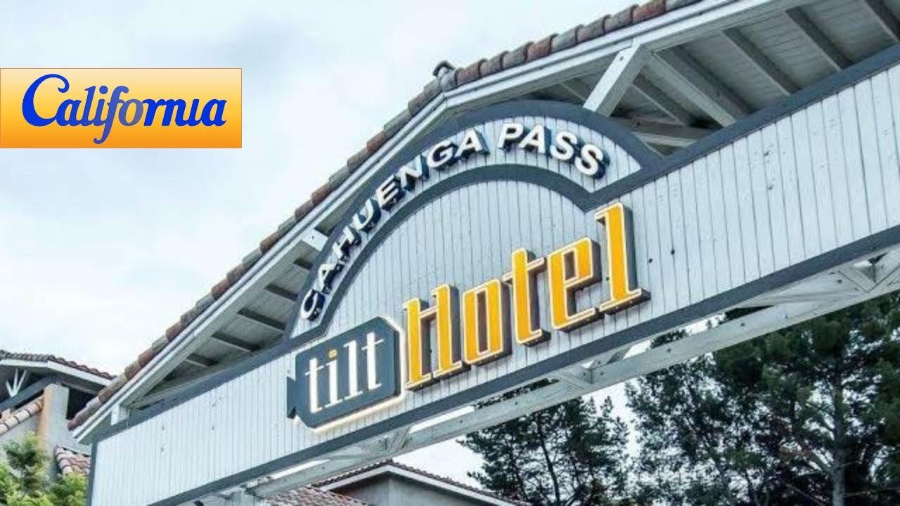 Tilt Hotel Universal Hollywood Universal City Hotels California