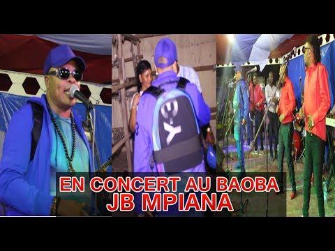 JB MPIANA EN CONCERT LIVE D'OUVERTURE DE LA KERMESSE BAOBA BEACH