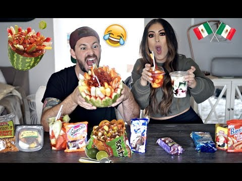 WHITE HUSBAND TRIES MEXICAN SNACKS *HILARIOUS*