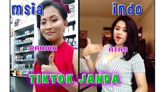 Janda Tik Tok Malaysia Vs Indonesia Style