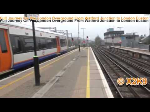 Full Journey On The London Overground From Watford Junction to London Euston
