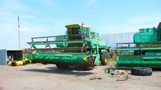 Пуск Дон-1500Б з новим подрібнювачем, ТО МАЗ-5551, ремонт Палессе GS-12 та ін. (97-День 3-Сезону)