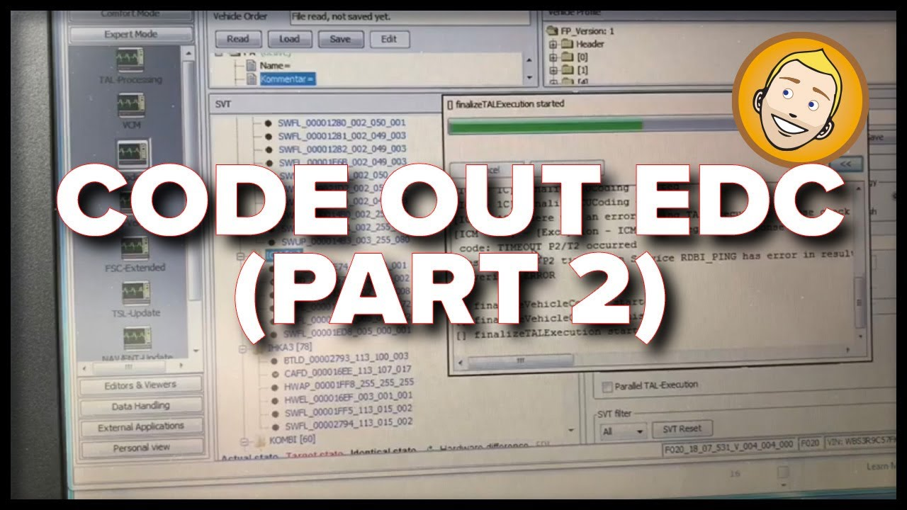 How to code out EDC on F82 M4 (Part 2)