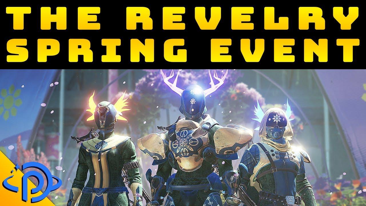 Destiny 2 The Revelry New Armors Exotic Arbalest New Verdant Forest Activity Youtube