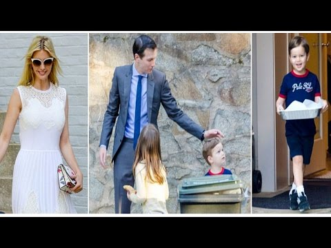 Thumbnail: Jared Kushner, Ivanka Trump's daughter Arabella, son Joseph brought treats out to the Secret Service