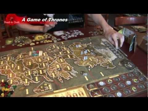 Game of Thrones Board Game Video Review