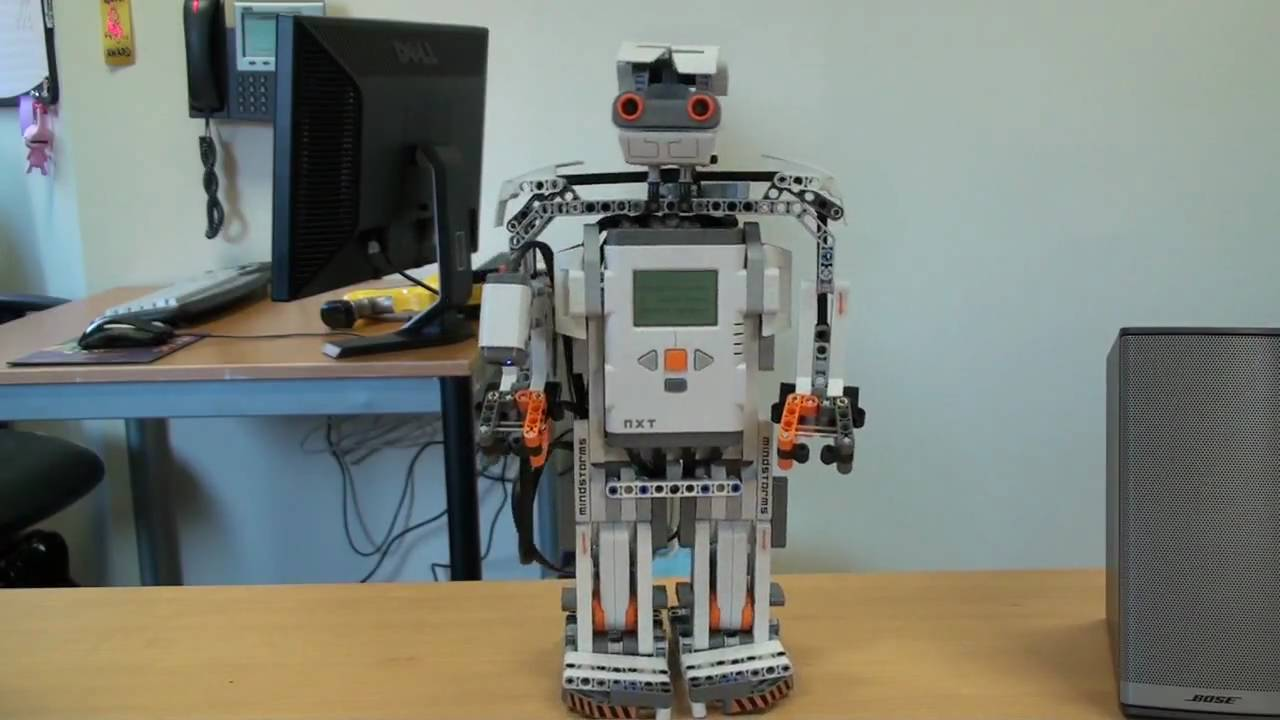 Lego Mindstorms NXT 2.0 From ThinkGeek - YouTube