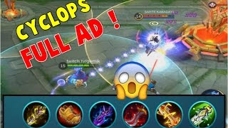 Mobile Legends: CYCLOPS THE (NEW) BEST MARKSMAN ?! INSANE DAMAGE 😱😱😱