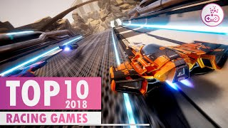 TOP 10 CRAZY FUN Racing Games of 2018 |  PS4/XB1/PC/SWITCH