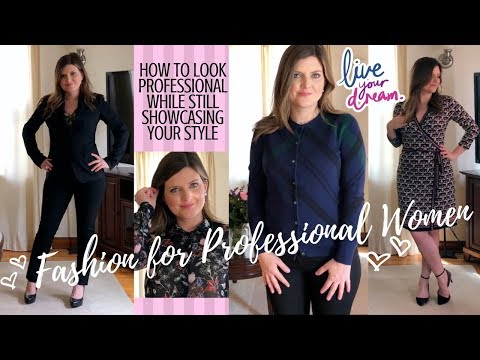 Fashion for Professional Women: Try-On of Essentials & Outfit Inspiration