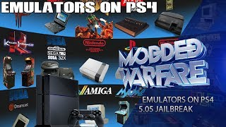 Running SNES/Game Boy Emulators on PS4 (5.05 Jailbreak)