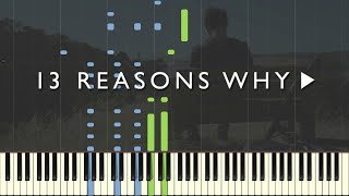 13 Reasons Why - Mess Is Mine - Vance Joy [Piano Tutorial] (Synthesia)