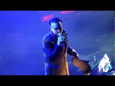 Marilyn Manson - Personal Jesus LIVE HD (2013) Club Nokia Los Angeles