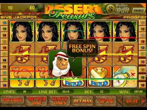 Treasure slot machine