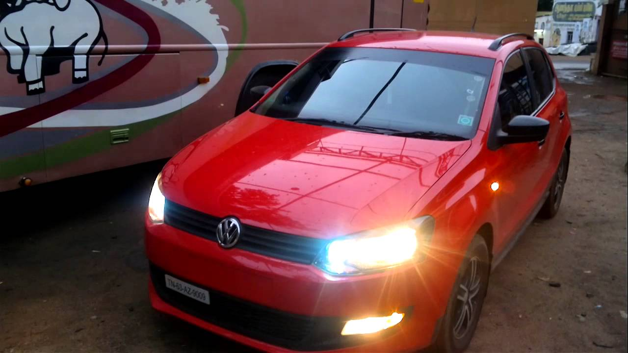 Vw Polo Modified Car Hid Light