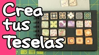 DIY Teselas Artísticas - Art tiles - Mosaico