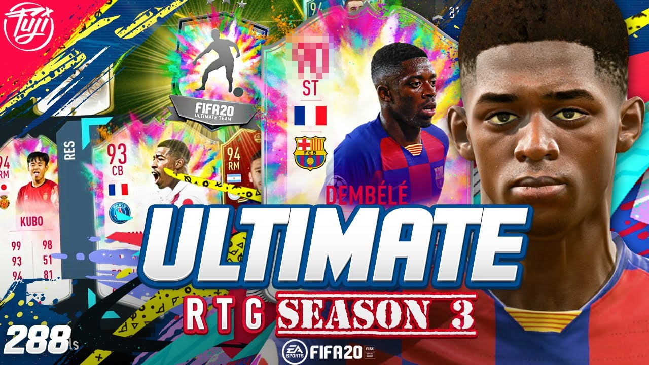 YES!!! SUMMERHEAT DEMBELE!!! ULTIMATE RTG #288 - FIFA 20 Ultimate Team Road to Glory