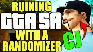 Ruining GTA:SA with a randomizer mod