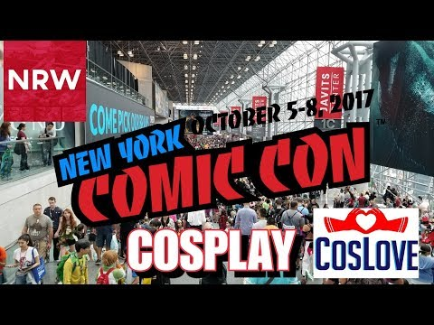NYCC 2017 Cosplay Music Video! New York Comic-Con #Cosplay #CosLove #NewReleaseWednesday #NRW