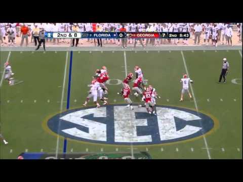 10/27/2012 Florida vs Georgia Football Highlights - YouTube