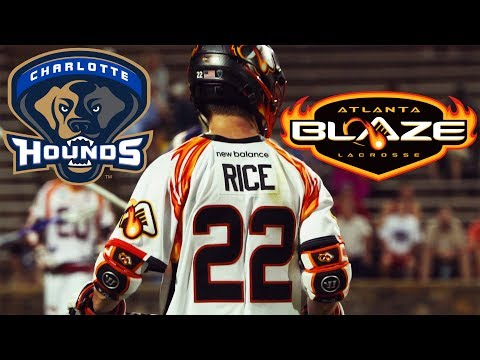 2017 MLL Highlights - Charlotte Hounds vs Atlanta Blaze
