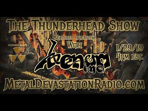 "Exclusive Interview with Tony ""Demolitionman"" Dolan From Venom Inc. On The Thunderhead Show"