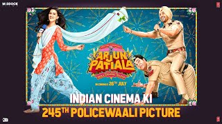 Indian Cinema Ki 245th Policewaali Picture | Arjun Patiala | Diljit, Kriti, Varun| Dinesh V