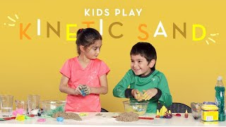 Kids Play Kinetic Sand | Kids Play | HiHo Kids